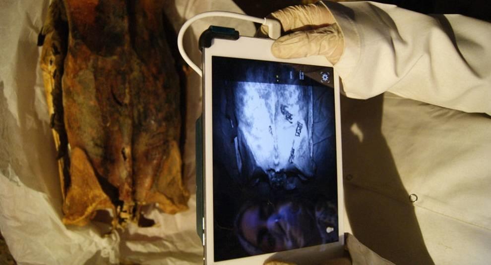 Древние тату: на мумиях обнаружены изображения