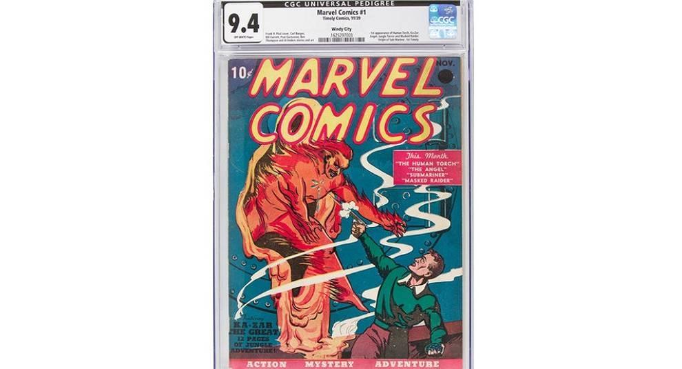 Комикс Marvel продали на аукционе за рекордную сумму