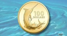 На Багамах выпущены две золотые монеты