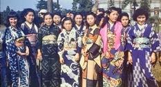 Послевоенная Япония на цветных фотографиях