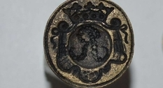 In Volyn in one of the lakes found the stamp of the XIX century