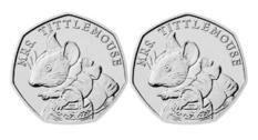 Монету номиналом 50 пенсов продали за 430 фунтов