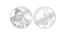 В Швейцарии появится монета с прижизненным портретом теннисиста