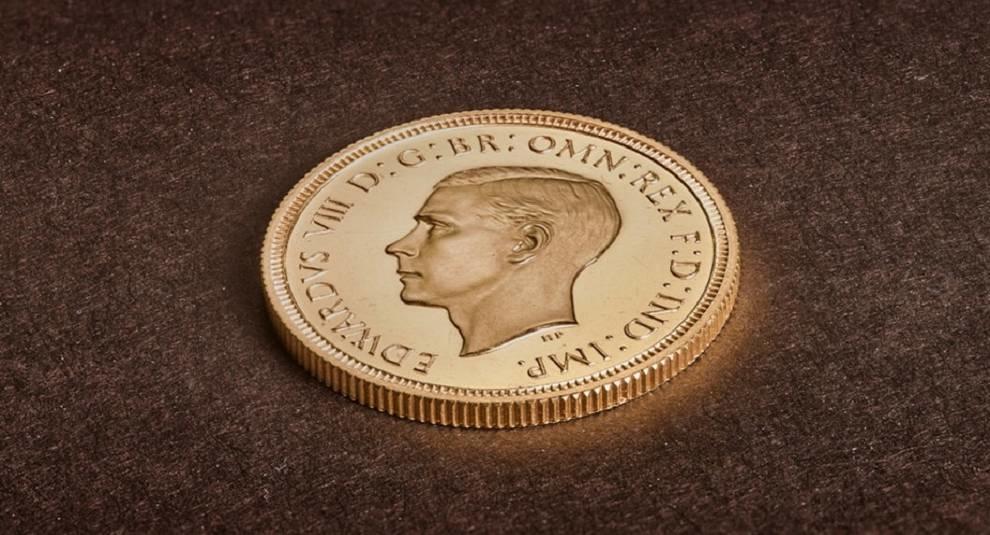 Самая дорогая британская монета: соверен Эдуарда VIII продан за 1,3 млн долларов