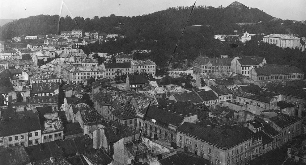 Панорама Львова XIX–XX веков