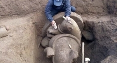 На острове Ява нашли часть статуи Ганеши