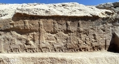 Ancient bas-reliefs depicting gods have been found in Iraq