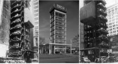 Фото вертикальных парковок начала прошлого века