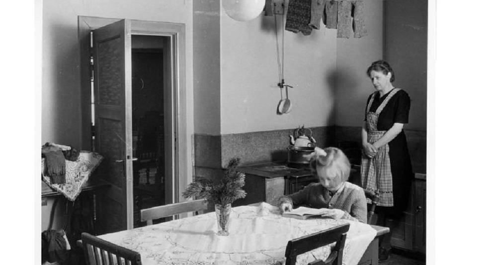 Life in Sweden in the middle of the last century