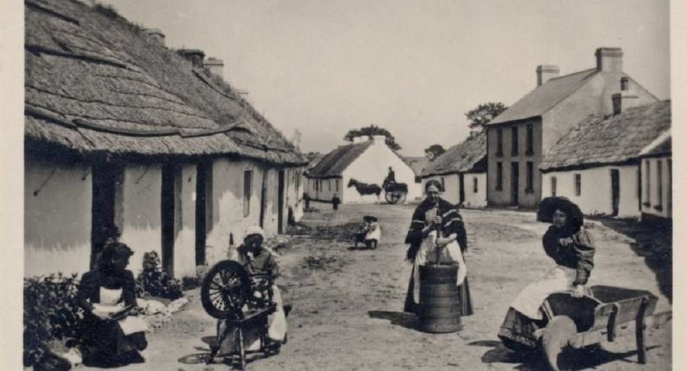 Ireland in pictures of the end of the XIX century