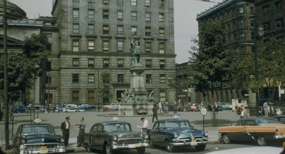 Фото Монреаля 50-х годов