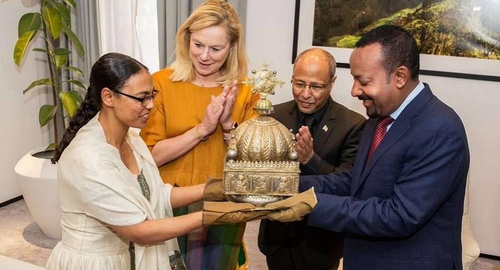 В Эфиопию вернули корону XVIII века