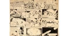 На аукционе продадут рисунок из первого комикса о Флэше Гордоне