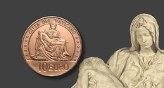 Стартовала новая серия монет Ватикана под названием «Искусство и вера»