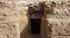 Ancient sarcophagus found under Roman forum