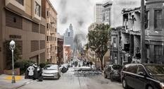На границе между прошлым и настоящим: Сан-Франциско на фотоколлажах