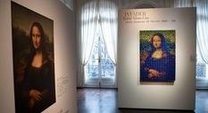 Пиксельную «Мону Лизу» из кубиков Рубика продали за 480,2 тыс. евро