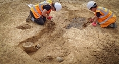 Rare burial site found in Sussex