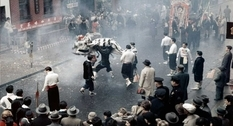 Chinese New year in New York in 1960