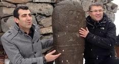 Symbol of eternal life: ancient stele found in Turkey