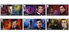 Collected all 007 agents: James Bond on new stamps