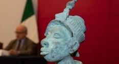Нигерии вернули скульптурку бога из города Ифе