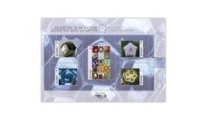 Kingdom of pentagons: a geometric figure on Belgian stamps