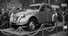Photos from the 1948 Paris motor show