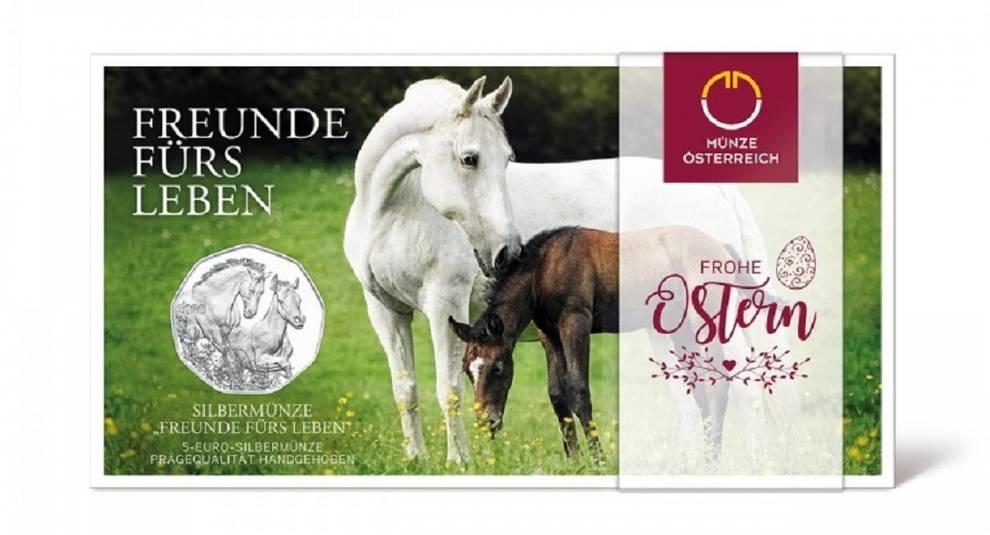 Серебро и медь: выпущены две пасхальные австрийские монеты