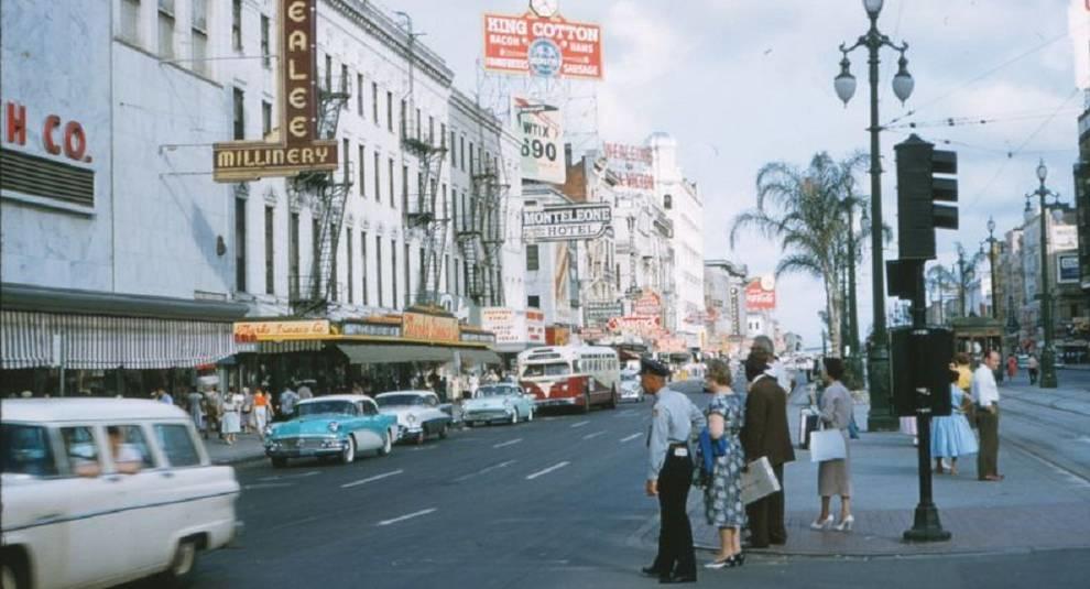 Конец 50-х: фото Нового Орлеана