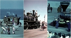 Чикагская железнодорожная ярмарка в середине прошлого столетия