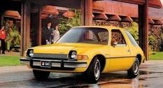 Винтажные снимки компактного AMC Pacer