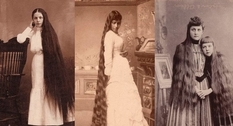 Длинные волосы – гордость женщин викторианской эпохи
