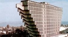 Торжество модернизма: Hôtel du Lac в Тунисе