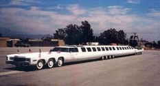 American Dream: the longest limousine in the world