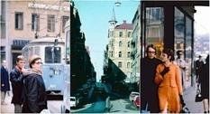 Уличная жизнь Стокгольма в 1960-х годах