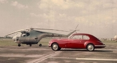 Vintage cars in photos from the 1950s