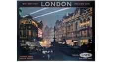 Винтажная реклама: яркие плакаты Лондонской железной дороги