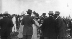 Mass events in Lviv at the beginning of the last century