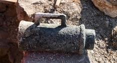 В хорватской крепости Нечвен найдено старинное артиллерийское орудие