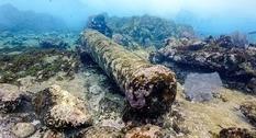 У берегов Мексики найдены остатки старого корабля