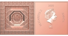Forbidden city: the island nation of Samoa unveiled a square coin