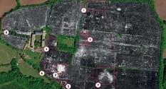 Ученые при помощи георадара составили карту исчезнувшего под землей города