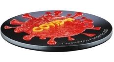 Чад представил четыре монеты с изображением коронавируса