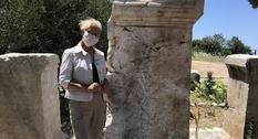 В Турции нашли плиту с посвящением малоизвестному римскому сенатору
