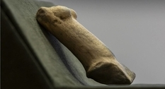 Ancient female statuette discovered in Hungary