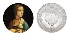 «Дама с горностаем»: портрет кисти да Винчи украшает монету Палау