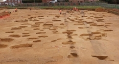 A sixth-century cemetery has been discovered in the English town of Alton