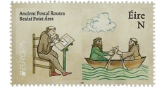 Ireland has added four stamps to the