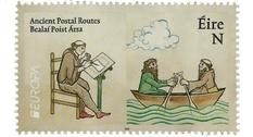 Ирландия пополнила серию «Древние почтовые маршруты» четырьмя марками